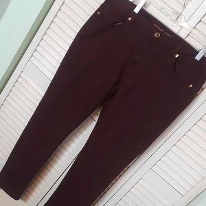 NWOT Michael Kors skinny jeans size 10